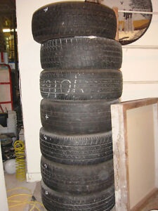 6  - 1995 Volkswagen Golf Steel rims with tires With 1extra tire Strathcona County Edmonton Area image 8