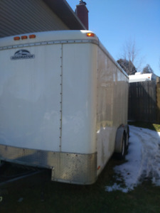 14' enclosed trailer
