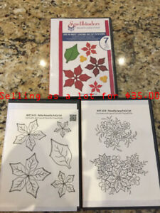 Heartfelt Creations - Poinsettia Stamp and Die Set