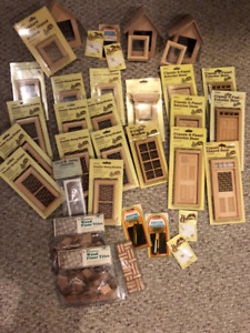 New Houseworks doll house doors and windows for sale. (Group 1)