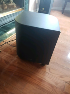 SubWoofer and AV Reciever for sale
