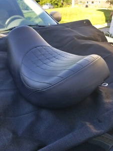Solo seat off a 2007 Harley Davidson street Bob