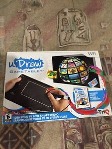 Wii uDraw Tablet/Game