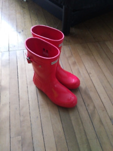 Rubber boots, size 7