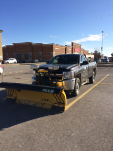 2011 Chevy 2500 Heavy Duty Truck with plow and salter