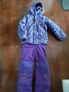 Girls size xs (6/7) Columbia snow suit