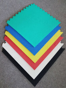 $2.50 per mat. Brand New - Interlocking soft foam mats