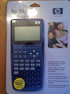 hp 39g+ Graphing Calculator Kitchener / Waterloo Kitchener Area image 1