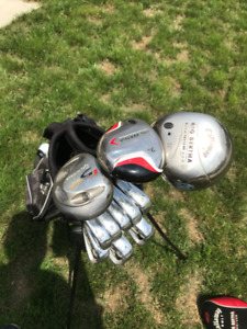 LEFT Handed Women's Taylormade Irons and Callaway Drivers