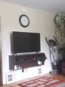 WALL MOUNTED TV STAND/DESK