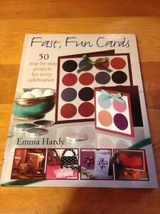 Card-making books, $10 for pair