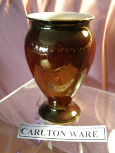 "- Carlton - ""Rouge Royale"" - Vase - 8"" - - $65.00 * * * *"