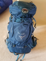 Hiking pack by osprey
