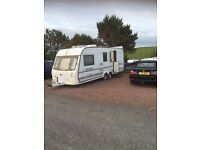 Coachman Laser twin axle 4 berth Touring Caravan