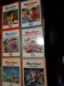 18 livre de la collection Martine  a la plage