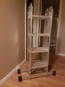 17 ft articulating ladder