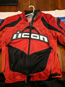 Motorcycle Jacket - Icon Contra LG