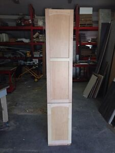 Maple tall cabinet