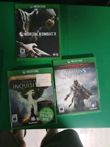 Fighting games xbox one ( 5 games ) $50