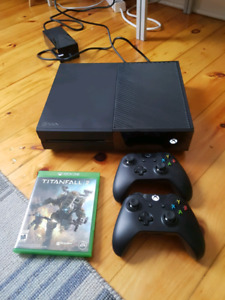 500 GB XBOX ONE with Titanfall 2