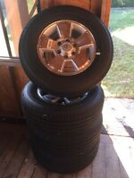 2015 Toyota Tacoma Rims and Tires