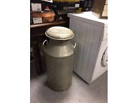 Large milk canister