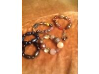 Selection of women's bracelets x5