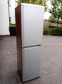 Frost free A class silver Beko fridge freezer