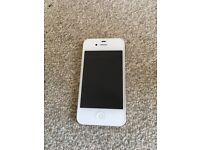 iPhone 4s 16gb white top condition o2