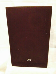 2 JVC Model SK-500 Floor Model 2-Way Stereo Speakers-EUC!