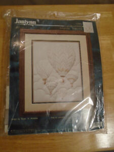 "JANLYNN CANDLEWICKING KIT ""MAJESTIC BALLOONS"" 11""X14"" CR 45 New"