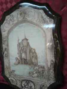 Rare Lord of the Rings  on Wood -Few in the WORLD MADE Windsor Region Ontario image 5