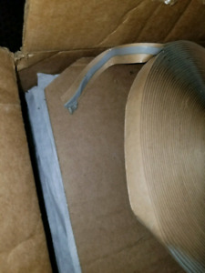 Butyl caulking tape