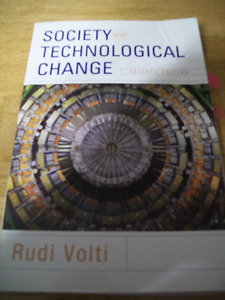 Society and Technological change 7th Edition Rudi Volti