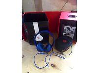 Original Dre Beats in blue excellent condition £50