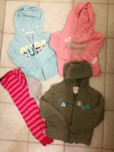 4 Toddler Girl Sweaters, Size 4T