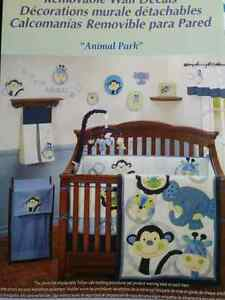 Boys room decoration and bedding