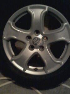 "Rim for sale 17"" tire size 235 55 R17 Gatineau Ottawa / Gatineau Area image 2"