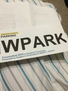 COUNTRY FEST PARKING SPOT 2016