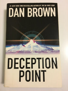 Deception Point by Dan Brown (first trade paperback edition)