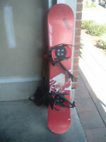 149 cm Snowboard with Bindings - Excellent condition!