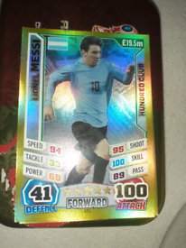 2014 World Cup Messi 100 club