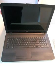 HP 15 Quad core laptop