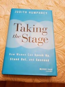 Taking the stage - Judith Humphrey