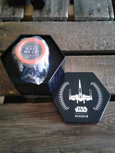 "Unisex Nixon Unit ""Star Wars/Poe Dameron"" Special Edition watch."