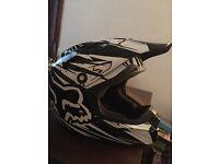 Fox v1 motocross helmet