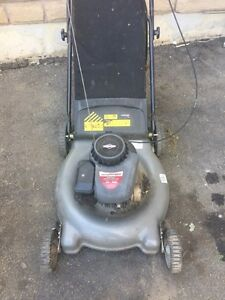 Lawnmower with bag 158cc Briggs