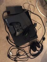 Xbox One 500GB with two headsets and six games