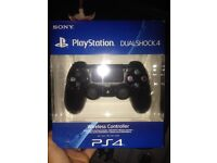BNIB black ps4 controller. Free local delivery.