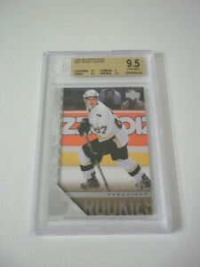 2005-06 SIDNEY CROSBY UD YOUNGS GUNS BGS GRADED 9.5 HOCKEY CARD